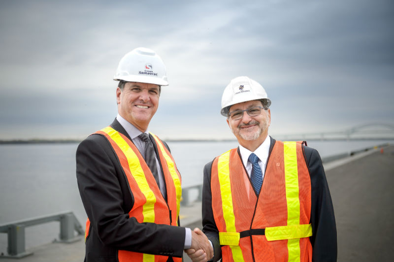 The newest terminal on the St. Lawrence River to be operated by Groupe Somavrac