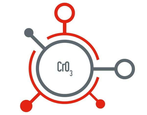 Acide chromique, chromic acid, produit chimique industrie automobile, galvanoplastie, chromer, produit pour chromer, chromic anhydride, chemical for plating, plating industry, chemical for automative industry