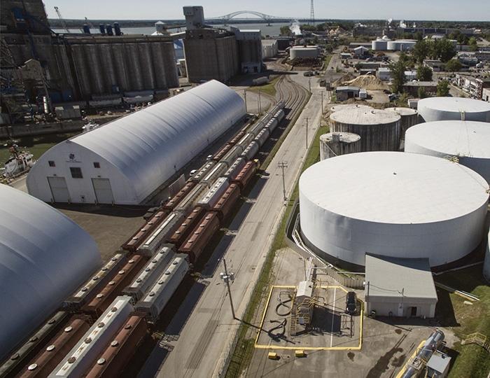 Groupe Somavrac, Port de Trois-Rivières